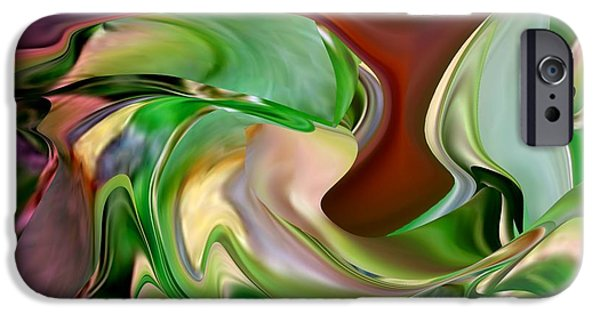 Abstract Expressionism iPhone Cases - End of Summer iPhone Case by Jacquie King