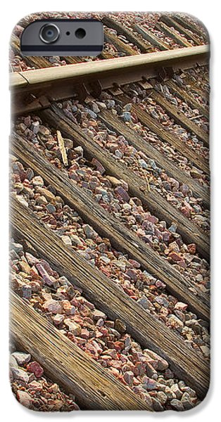 End of the Tracks iPhone Case by James BO  Insogna