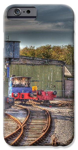 Engine Sheds Quainton Road Buckinghamshire Railway iPhone Case by Chris Thaxter