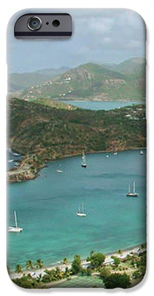 English Harbour Antigua iPhone Case by John Edwards