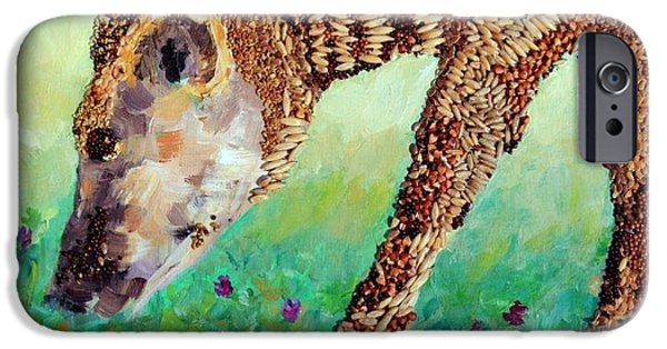 Agricultural iPhone Cases - Enjoying Meadow Grasses iPhone Case by Naomi Gerrard