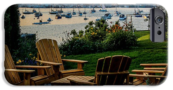 Recently Sold -  - East Village iPhone Cases - Enjoying the Portland View iPhone Case by Joe Far Photos