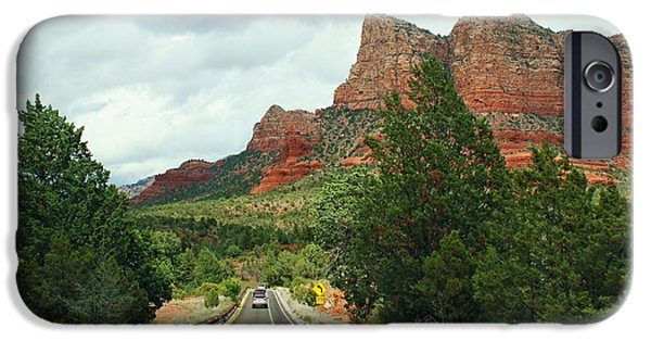 Sedona iPhone Cases - Entering Sedona iPhone Case by Olahs Photography