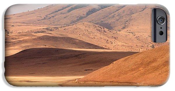 Ngorongoro Crater iPhone Cases - Entering the Serengeti iPhone Case by Adam Romanowicz
