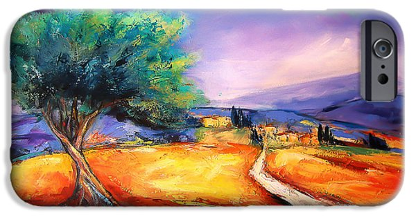 Village iPhone Cases - Entering the Village iPhone Case by Elise Palmigiani