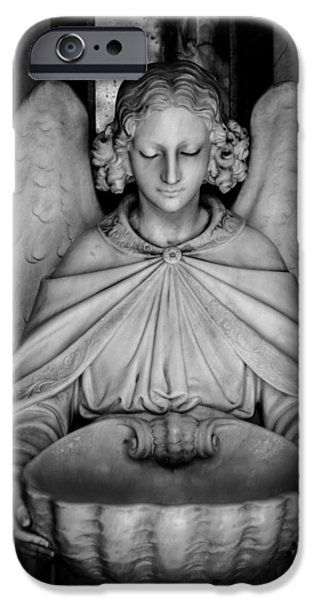 Entrance angel iPhone Case by Anthony Citro