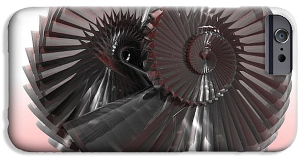 Gina Lee Manley iPhone Cases - Entwined iPhone Case by Gina Lee Manley