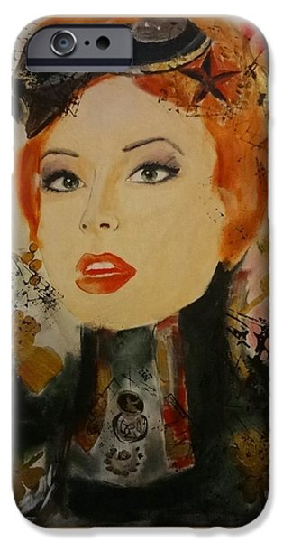 Ww1 iPhone Cases - Envision the Red Revolution iPhone Case by Victoria Rosenfield