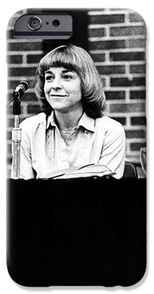 ERA DEBATE, 1978 iPhone Case by Granger