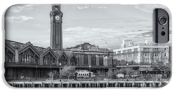 Hudson River iPhone Cases - Erie Lackawanna Terminal VI iPhone Case by Clarence Holmes