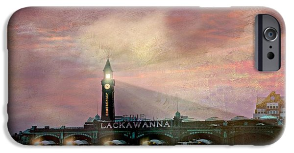 Hudson River iPhone Cases - Erie Lackawanna Transit iPhone Case by Diana Angstadt