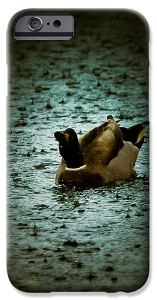 Escaping the Rain iPhone Case by Loriental Photography