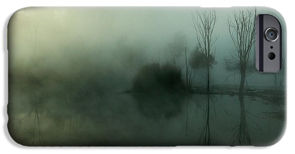 Eerie iPhone Cases - Ethereal iPhone Case by Nicholas Blackwell