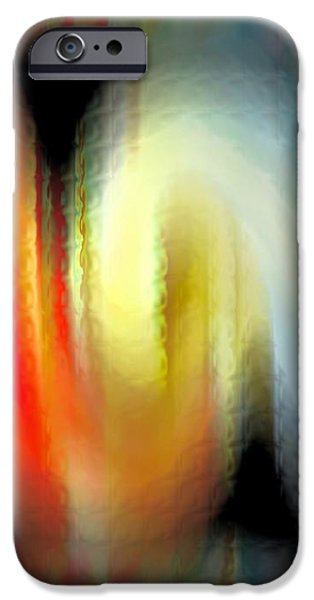Evanescent Emotions iPhone Case by Gwyn Newcombe