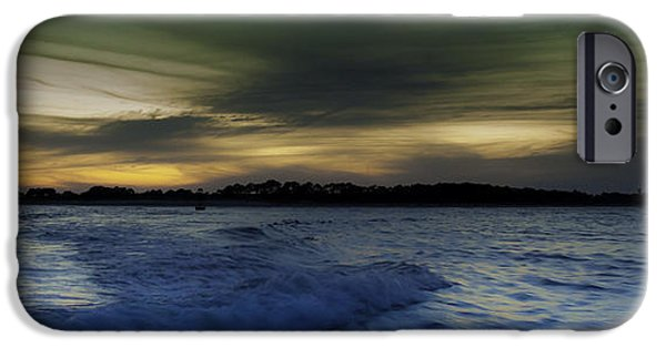 Unset iPhone Cases - Evening Approaches  iPhone Case by Debra Forand