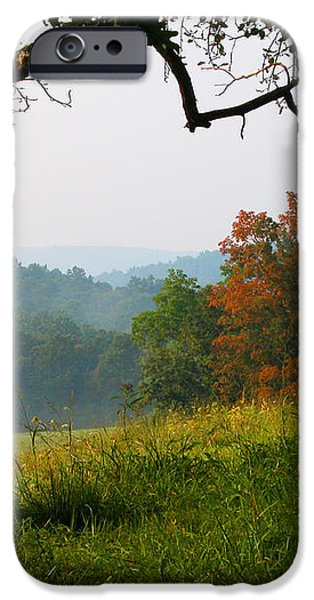 Evening in the Pasture iPhone Case by Thomas R Fletcher