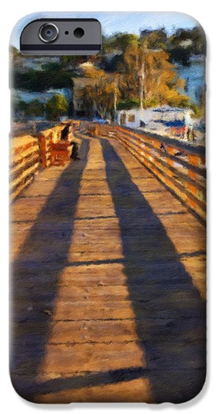 Sausalito iPhone Cases - Evening Light iPhone Case by Jonathan Nguyen