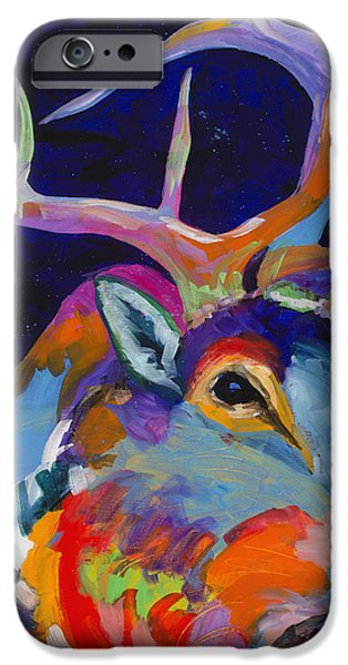Painter Paintings iPhone Cases - Evening Sounds iPhone Case by Tracy Miller