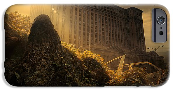 Ruin iPhone Cases - Everything Must Perish iPhone Case by Michal Karcz