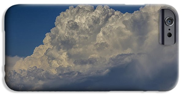 Nebraska iPhone Cases - Exceptional End of July Nebraska Storms 002 iPhone Case by NebraskaSC