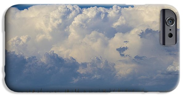 Nebraska iPhone Cases - Exceptional End of July Nebraska Storms 005 iPhone Case by NebraskaSC