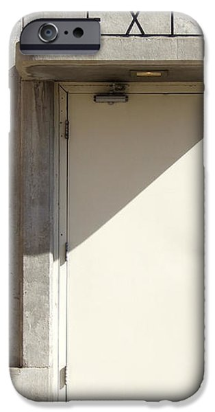 EXIT iPhone Case by Mike McGlothlen