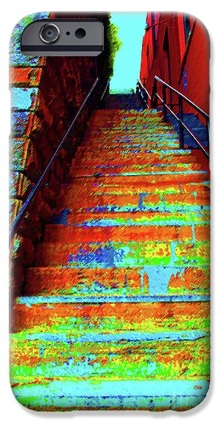 Von Miller iPhone Cases - Exorcist Steps iPhone Case by Jost Houk