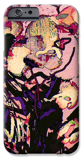 Abstractions iPhone Cases - Exotic Orchid iPhone Case by Natalie Holland