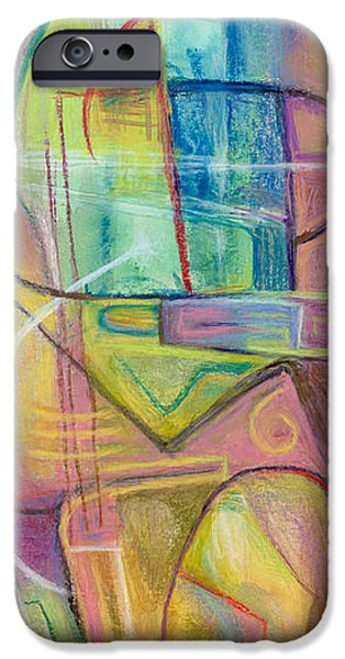 Abstract Expressionist iPhone Cases - Exotica iPhone Case by Tom Kecskemeti