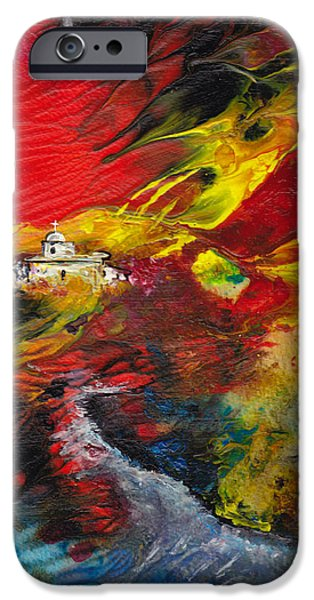 Expelled from The Land iPhone Case by Miki De Goodaboom