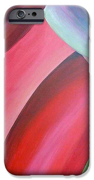 Extrait iPhone Case by Muriel Dolemieux