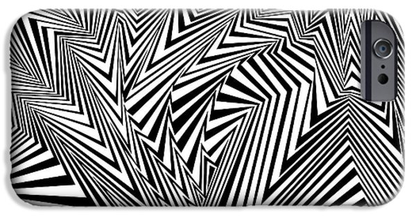 Virtual iPhone Cases - Extreme Fluctuations iPhone Case by Douglas Christian Larsen
