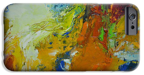 Abstract Movement iPhone Cases - Exuberance iPhone Case by Christopher Chua