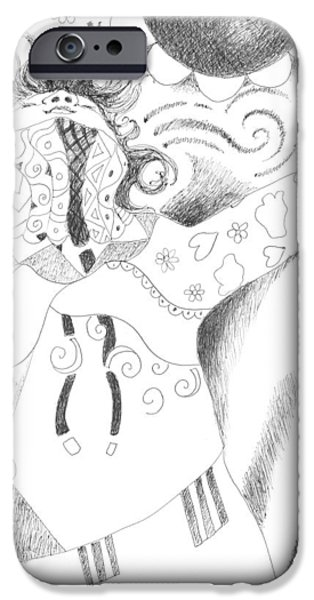 Exuberance iPhone Case by Helena Tiainen