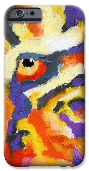 Eye of the Tiger iPhone Case by Stephen Anderson