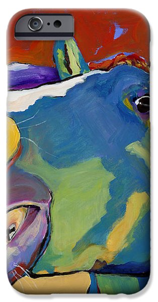 Eye To Eye iPhone Case by Pat Saunders-White