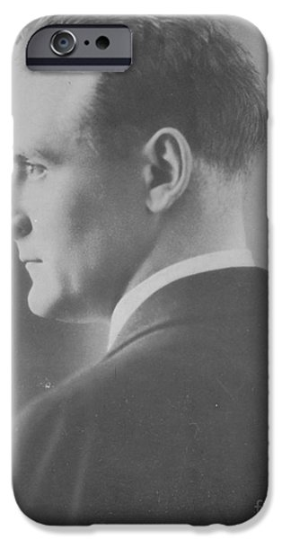 Personalities Photographs iPhone Cases - F. Scott Fitzgerald, American Author iPhone Case by Photo Researchers