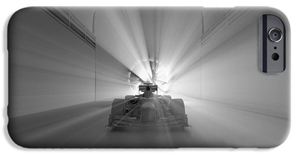 Circuit iPhone Cases - F1 Car Ready To Race iPhone Case by Ikhsan Fawakal