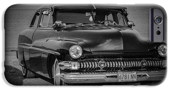 Old Cars iPhone Cases - Fabulous Old Car iPhone Case by Linda  Howes