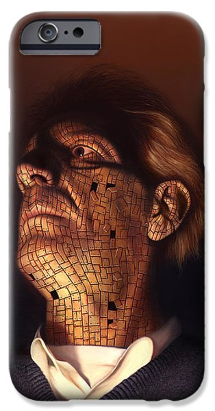 Realism Mixed Media iPhone Cases - Faceplate iPhone Case by Philip Straub