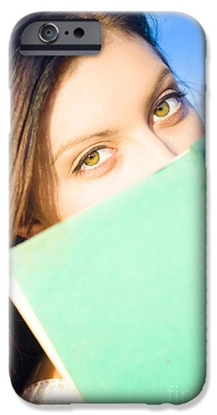 Youthful iPhone Cases - Fact Finding Study Of Information Discovery In Wisdom And Knowle iPhone Case by Ryan Jorgensen