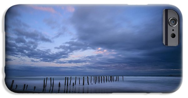 Beach Landscape iPhone Cases - Fading Light iPhone Case by Robert Green