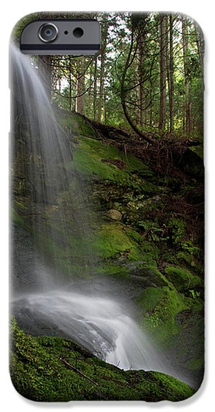 Fall iPhone Cases - Faerie Falls iPhone Case by Mike Reid