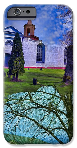 Headstones Digital Art iPhone Cases - Failed iPhone Case by Leif Sohlman