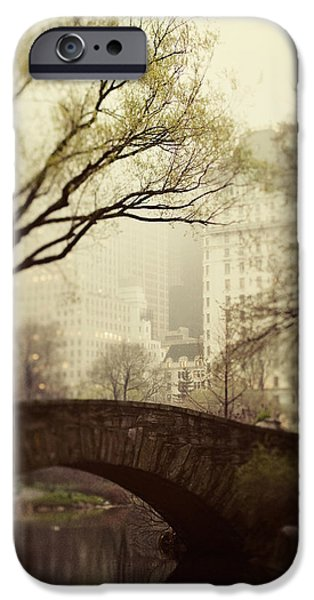 Fairy of New York iPhone Case by Irene Suchocki