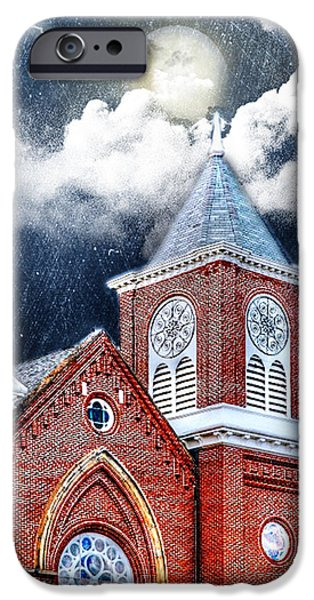 Fury iPhone Cases - Faith and Fury iPhone Case by Mary Timman