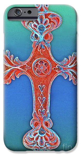 Faith iPhone Case by Gwyn Newcombe