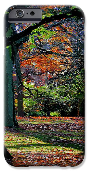 Tetris Block iPhone Cases - Fall Begins iPhone Case by Jacquin
