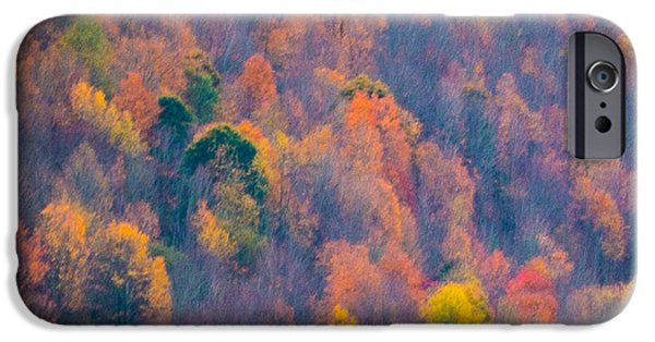 Autumn iPhone Cases - Fall Impressions iPhone Case by Donald Fisher