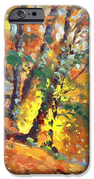 Fall in Bear Mountain iPhone Case by Ylli Haruni